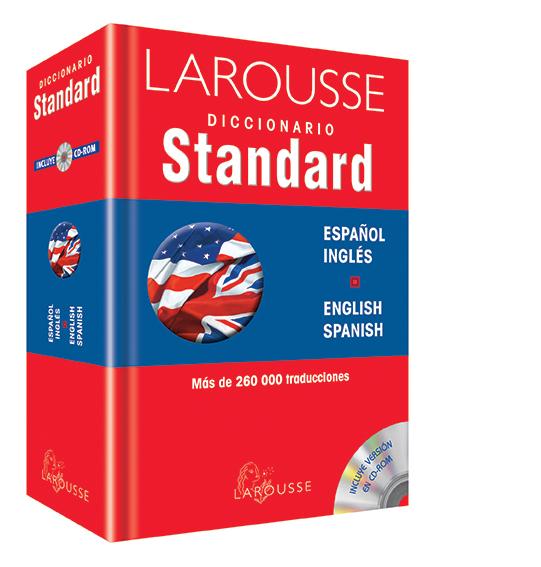 Diccionario Standard Español/Inglés – English/ Spanish