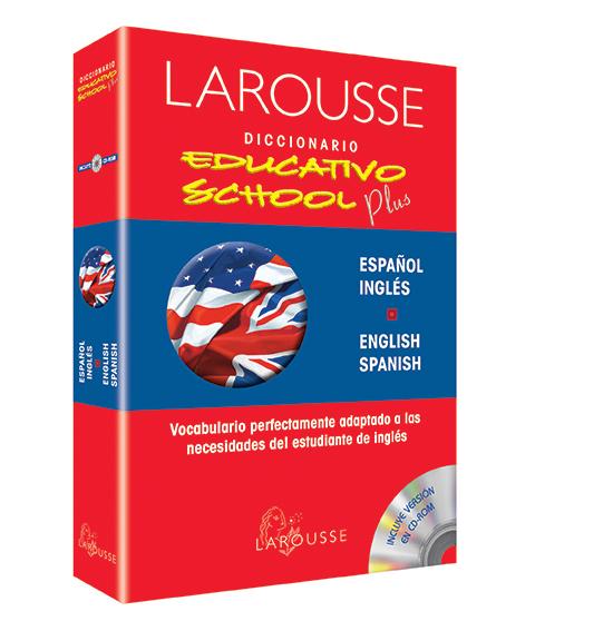 Diccionario Educativo School Plus Español/Inglés – English/ Spanish