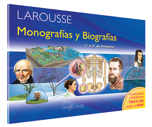 Monografías y Biografías 1-3 Primaria