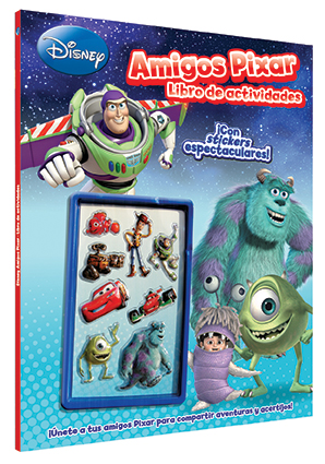 Disney Amigos Pixar / Libro de Actividades
