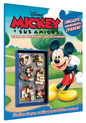 Disney Mickey Libro de Aventuras con Actividades