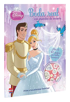 Disney Princesa Boda Real con Atuendos de Ensueños