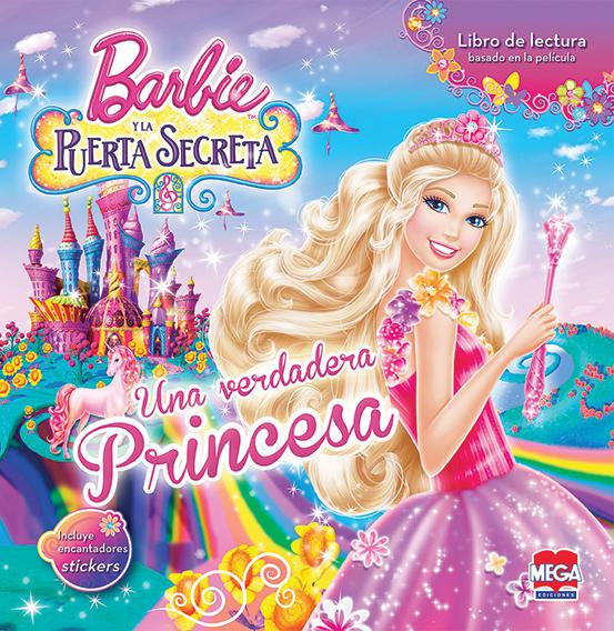 Barbie y la puerta secreta. Libro de lectura con stickers