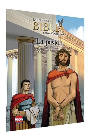 Mi primera Biblia para colorear. Nuevo Testamento: La Pasión