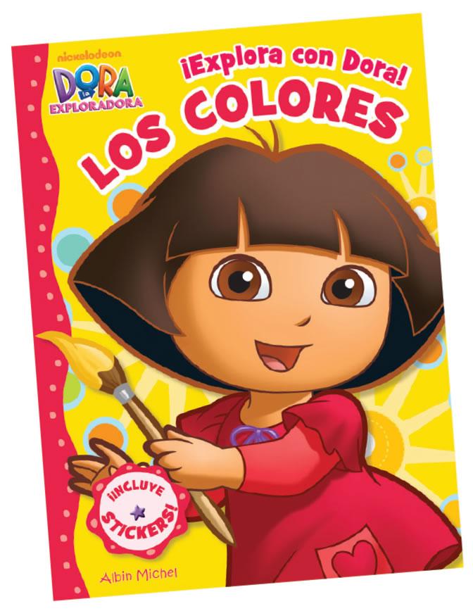 ¡Explora con Dora! Los colores