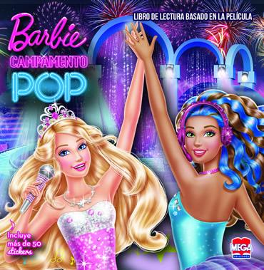 Barbie Campamento pop. Libro de lectura
