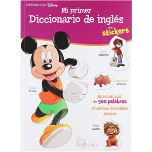 Mi primer diccionario de inglés con stickers