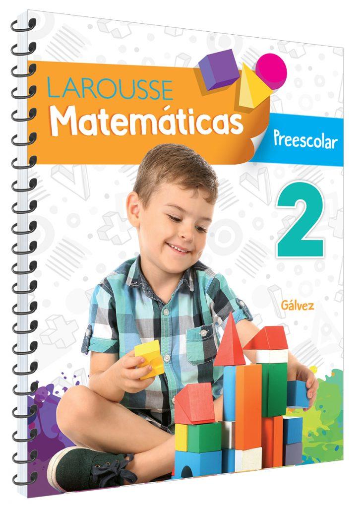 Matemáticas Preescolar 2  Gálvez