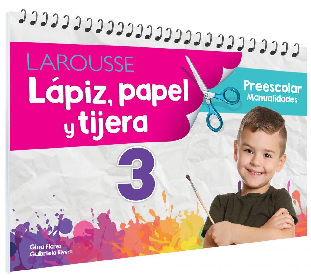 Lápiz, papel y tijera  3