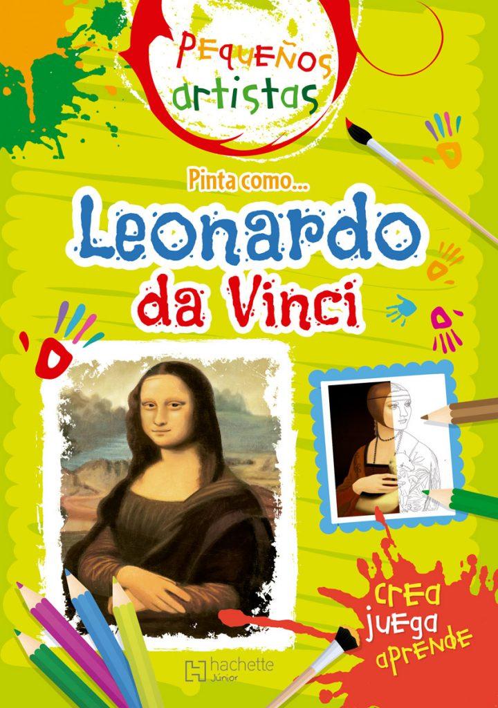 Pequeños artistas. Pinta como Da Vinci